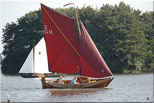 punterbouw houten schepen
